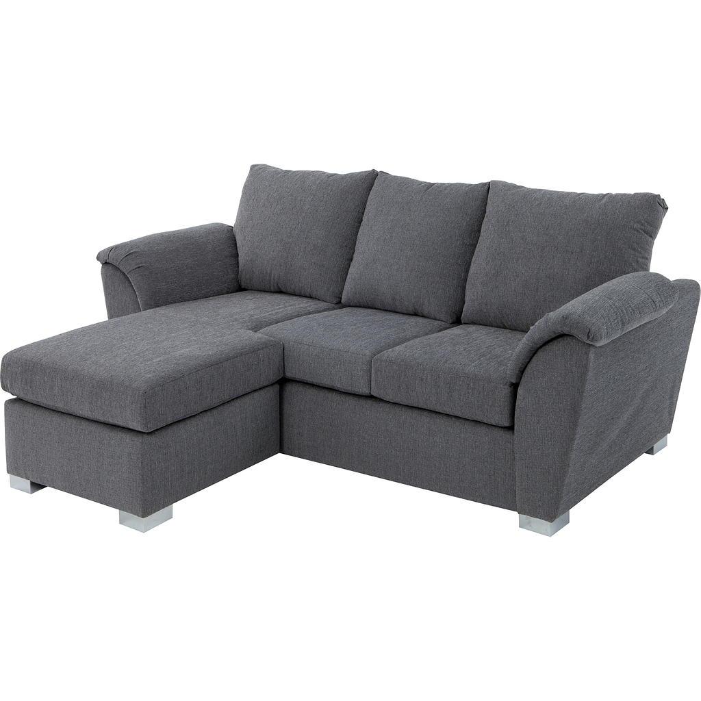 Sofa tissu design contemporain tanguay for Petit sofa lit
