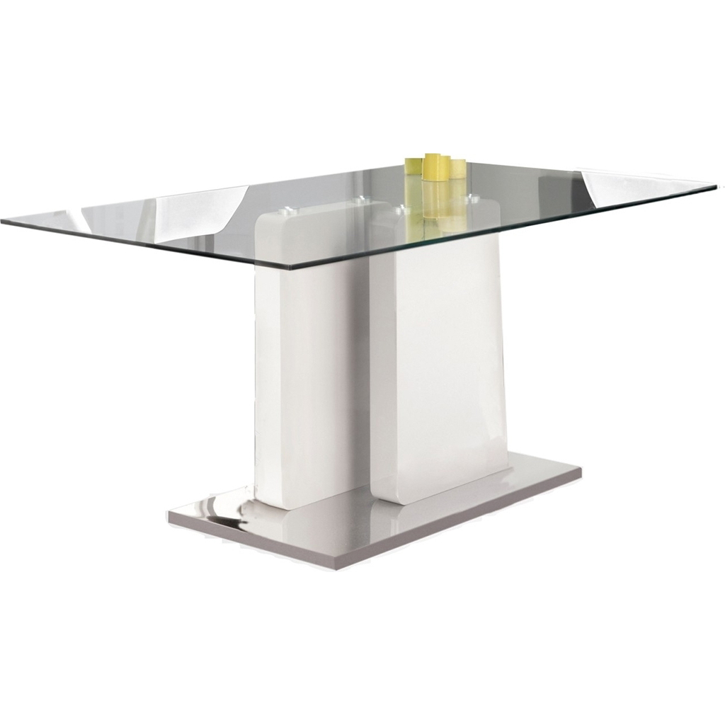Table manger tanguay for Table de cuisine en verre