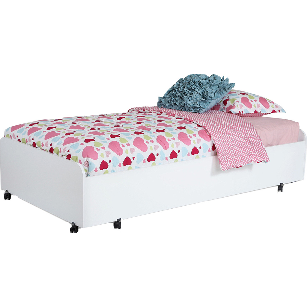 lit gigogne simple sur roues tanguay. Black Bedroom Furniture Sets. Home Design Ideas