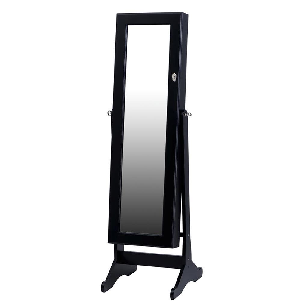 Miroir Sur Pied Avec Rangement Bijoux Tanguay