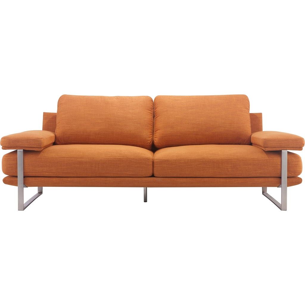 Sofa tissu design contemporain tanguay for Liquidation tanguay