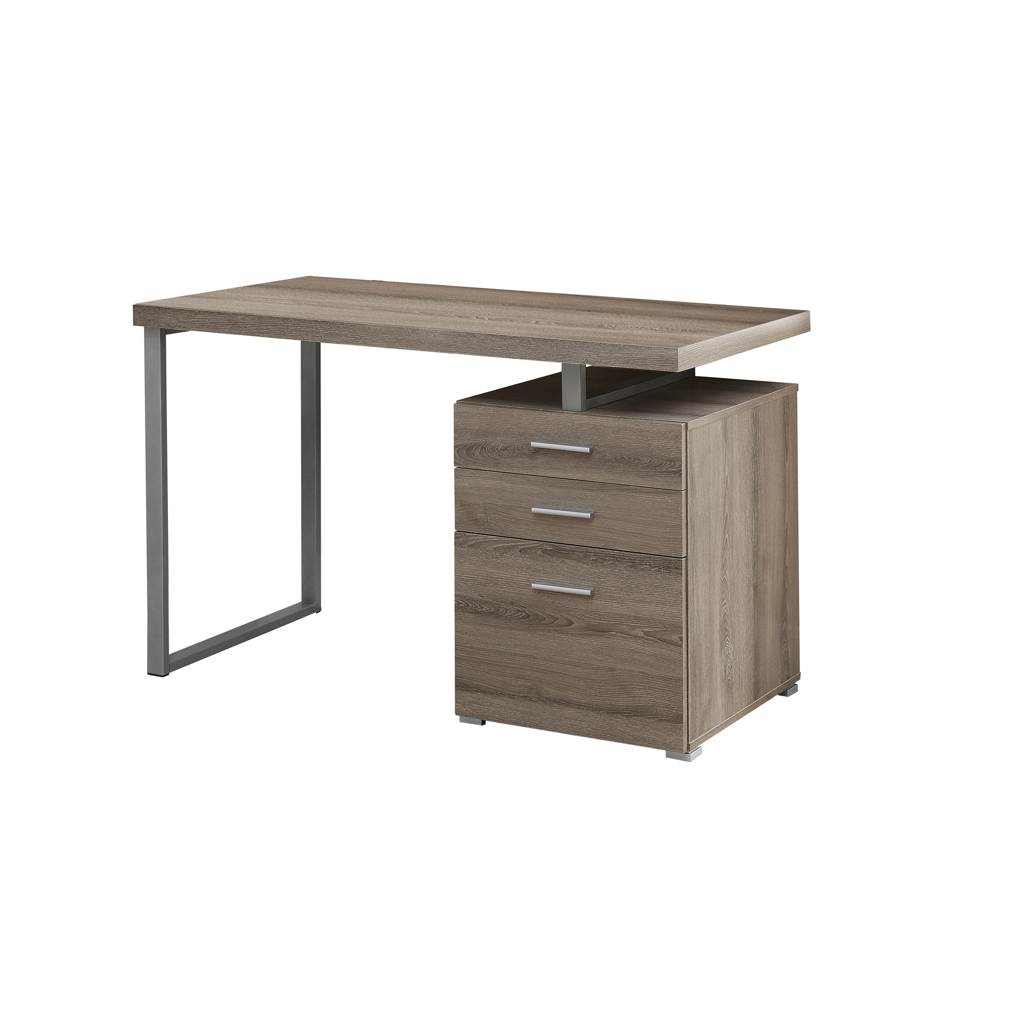 bureau de travail r versible 48 po taupe fonc tanguay. Black Bedroom Furniture Sets. Home Design Ideas