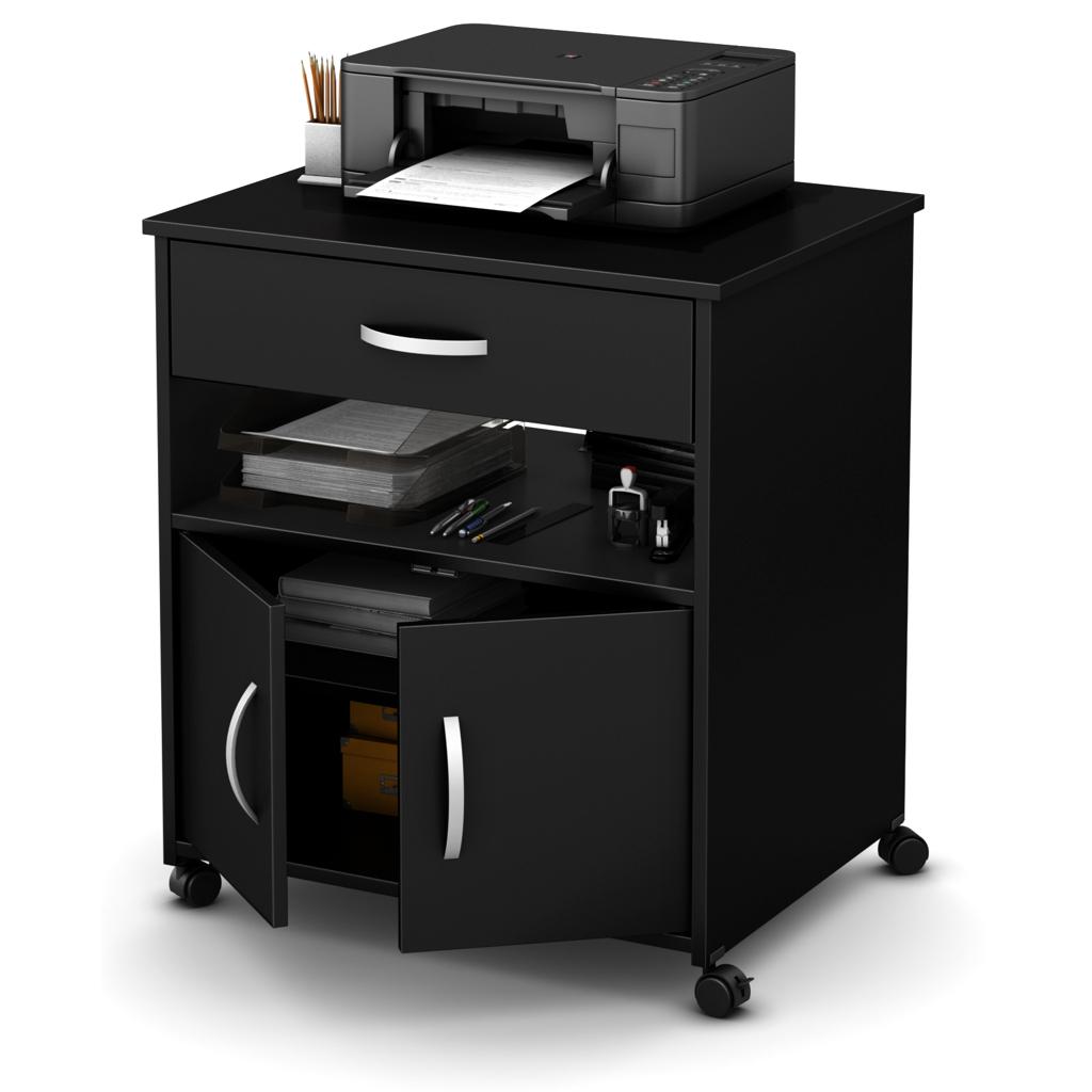 Meuble de rangement sur roues pour imprimante tanguay for Petit meuble imprimante