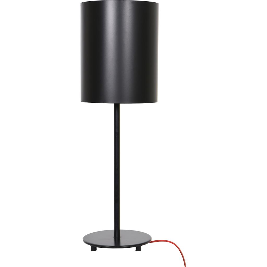 lampe de table m tal noir mat tanguay. Black Bedroom Furniture Sets. Home Design Ideas
