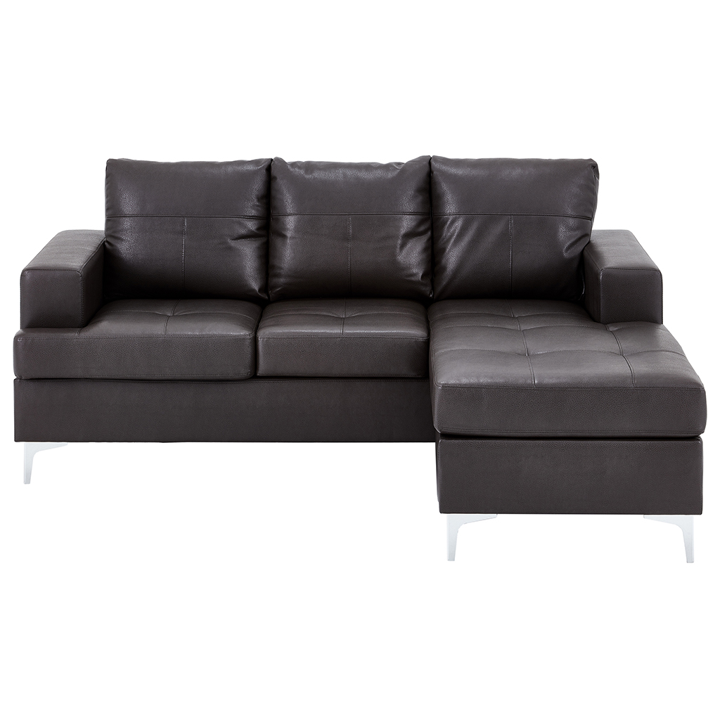 Sofa avec chaise longue tanguay for Divan en cuir
