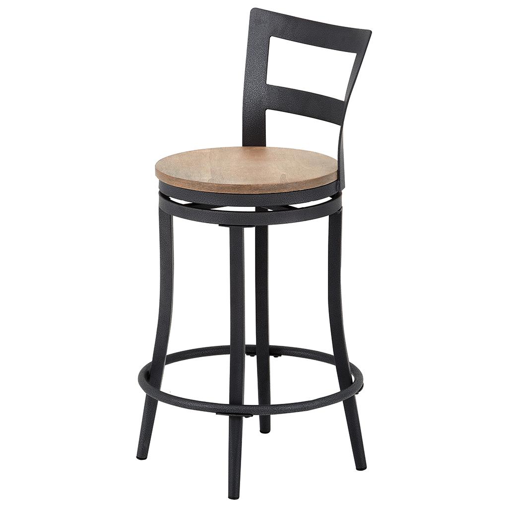chaise de bar pivotante tanguay. Black Bedroom Furniture Sets. Home Design Ideas