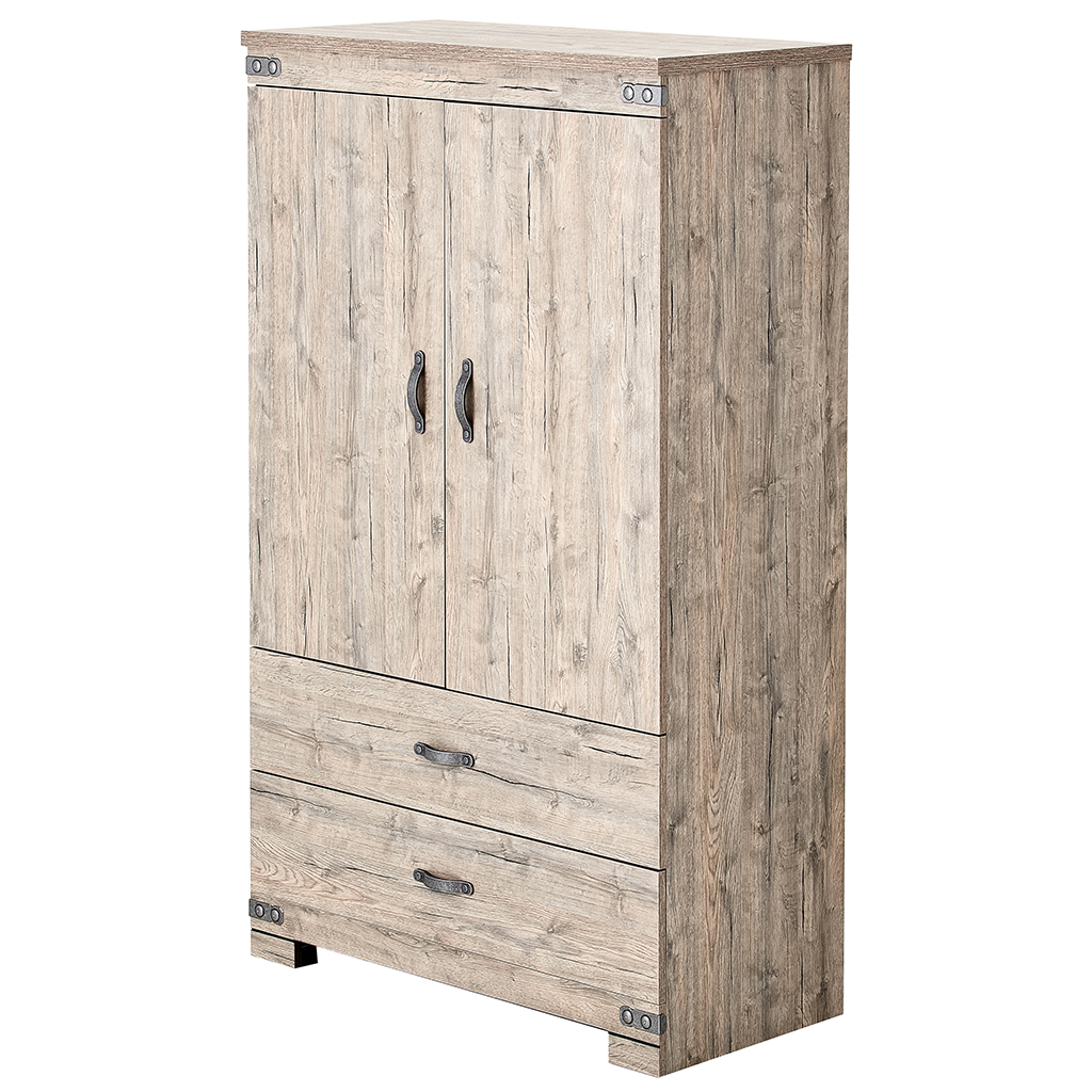 Commode portes avec 2 tiroirs tanguay for Meuble concordia