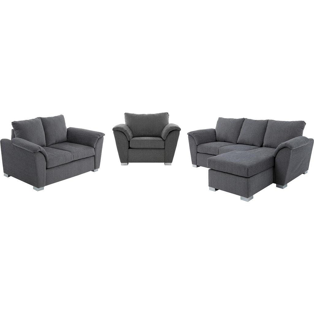 mobilier de salon en tissu 6 places tanguay. Black Bedroom Furniture Sets. Home Design Ideas