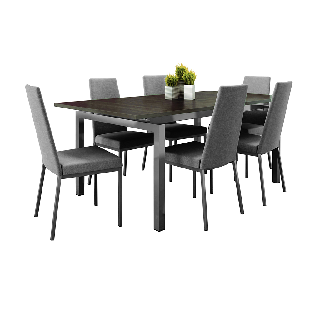 Ensemble de salle manger 5 mcx tanguay for Table extensible pour veranda