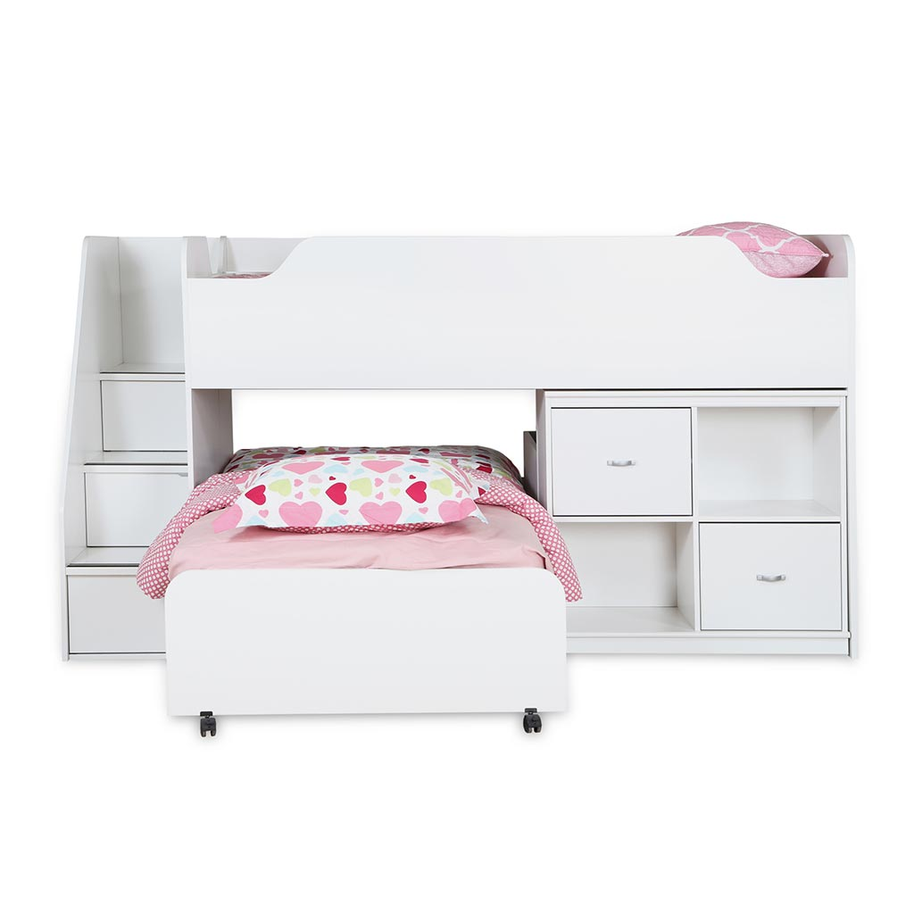lit superpos avec rangement tanguay. Black Bedroom Furniture Sets. Home Design Ideas