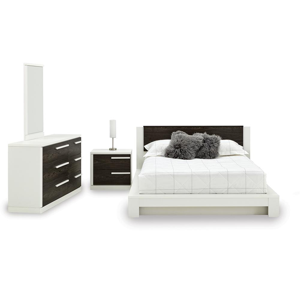 Mobilier de chambre coucher grand lit 2 places tanguay - Meuble chambre a coucher ...