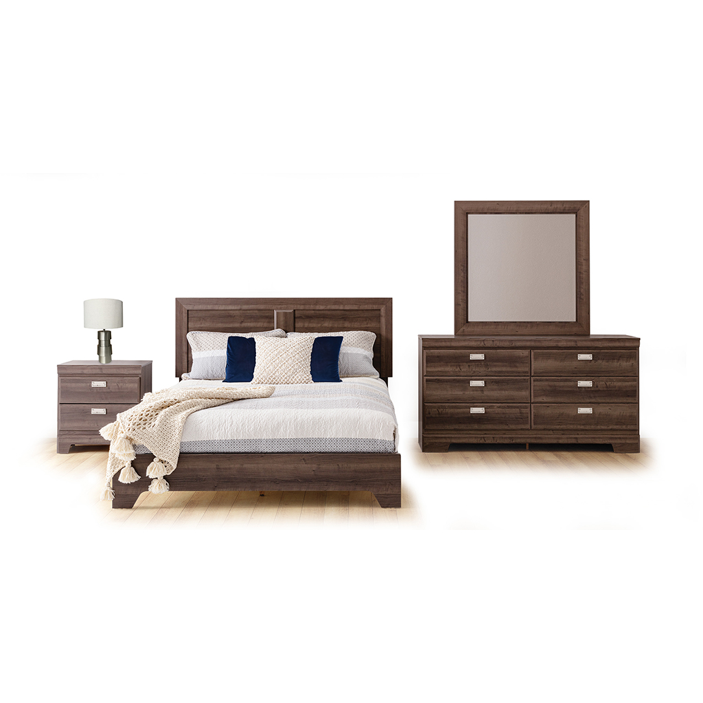 mobilier de chambre coucher queen grand 2 places tanguay. Black Bedroom Furniture Sets. Home Design Ideas