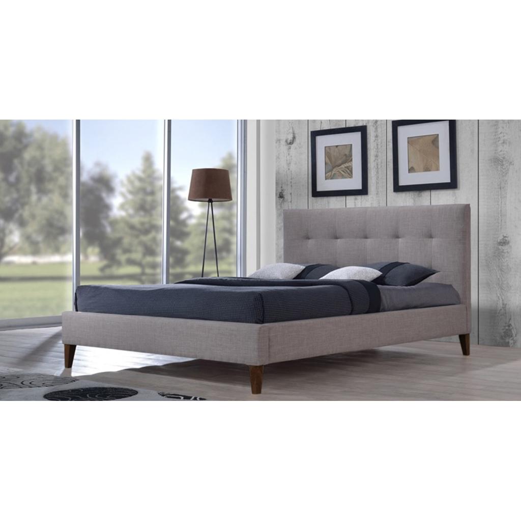 lit plateforme queen grand 2 places design contemporain. Black Bedroom Furniture Sets. Home Design Ideas