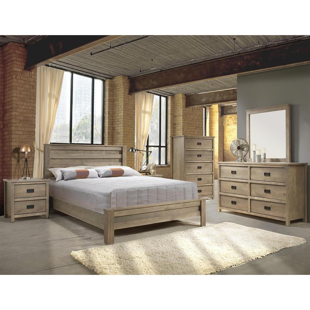 Petite Chambre Froide Negative : Mobilier de chambre à coucher Queen grand 2 places  Tanguay