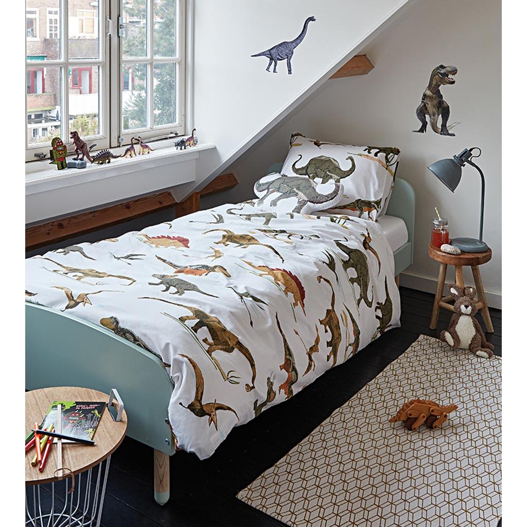 ensemble housse de couette juv nile dinosaures tanguay. Black Bedroom Furniture Sets. Home Design Ideas