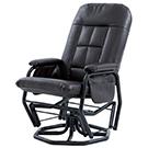 Chaise berçante et pivotante