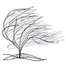 Appliqué mural d'un arbre