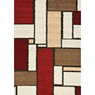 Carpette « Milo » tissée à la machine (5.3 x 7.7 pi)