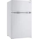 Réfrigérateur compact de 3.1pi3 avec 2 portes