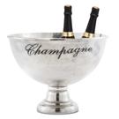 Sceau à champagne en aluminium