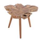 Table d'appoint en bois de teck