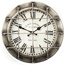 Horloge murale en métal nickelé Titanic