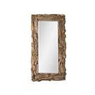 Miroir rustique en bois naturel