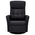 Fauteuil inclinable pivotant