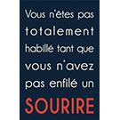 Toile Sourire 24x36