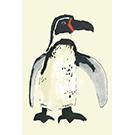 Toile Pingouin 24x36