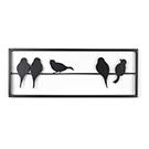 Appliqué mural oiseaux - petit