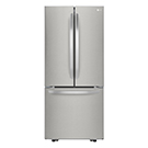 Réfrigérateur à double porte 21.8 pi.cu.
