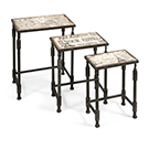 3 tables gigognes d'inspiration Paris