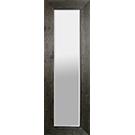 Miroir avec cadre de bois noir