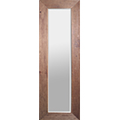 Miroir avec cadre de bois de pin