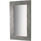 Miroir design industriel en métal galvanisé