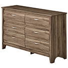 Commode double 6 tiroirs
