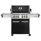 Barbecue Prestige 80000BTU brûleur latéral et infrarouge