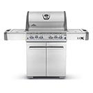 Barbecue LEX 74000BTU avec brûleur latéral