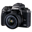 Caméra EOS M5 15-45mm 24,2MP vidéo 1080p Wi-Fi Bluetooth