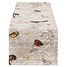 Chemin de table Oiseaux 16x70po
