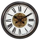 Horloge murale avec mouvement apparent 24 po