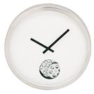 Horloge murale 15 po en métal