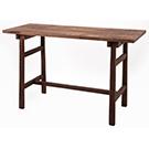 Table de travail en bois de mango 47po