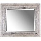 Miroir beige antique 32x38 po