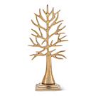 Arbre à bijoux doré