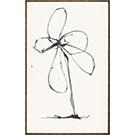 Cadre Fleur gestuelle II