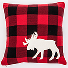 Coussin 20X20 rouge