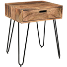 Table d'appoint 20X16X24 po