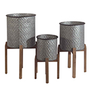 Ensemble 3 cache-pots